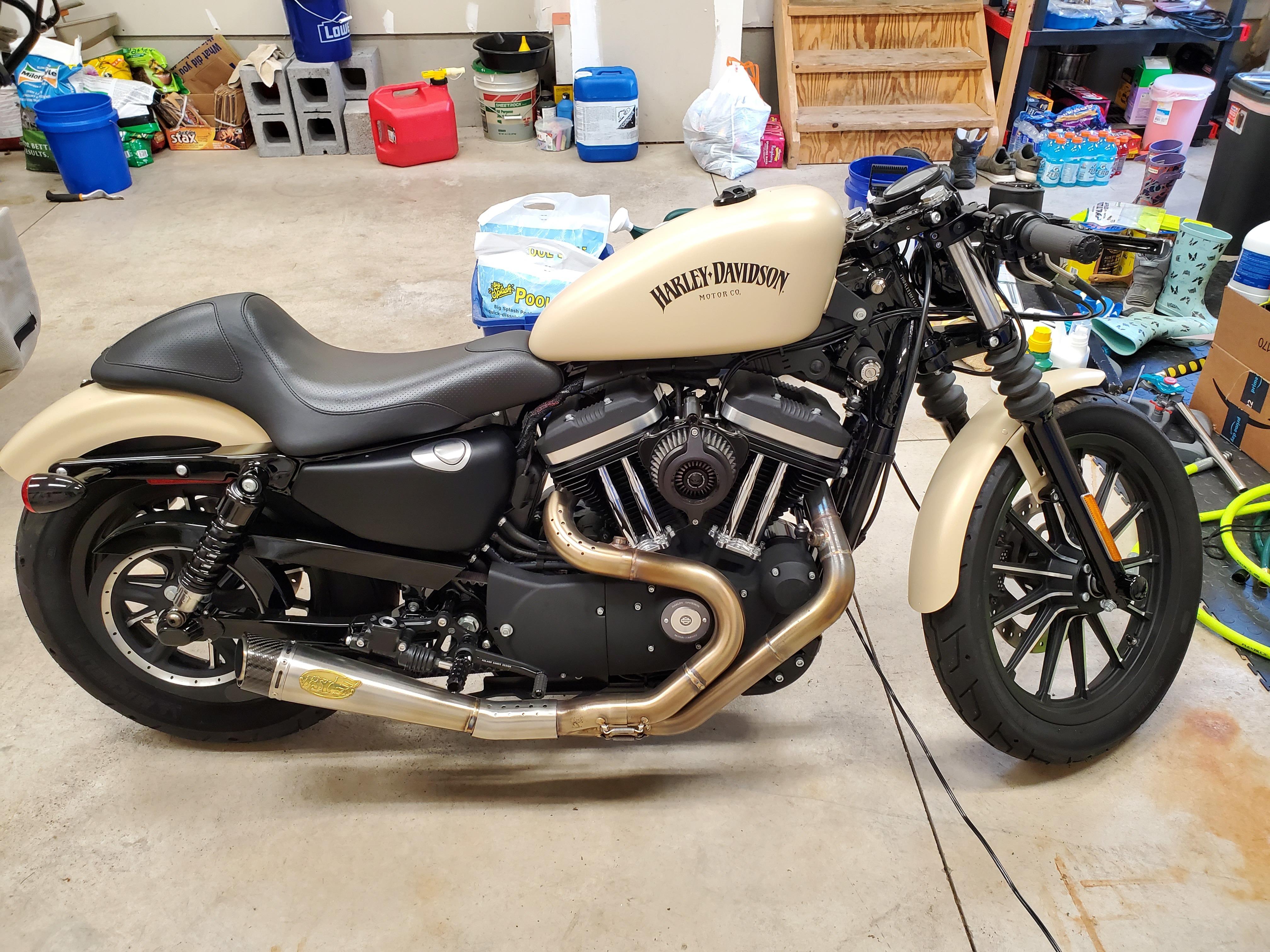 Photo Used 2015 Harley-Davidson Custom Motorcycle  $10000
