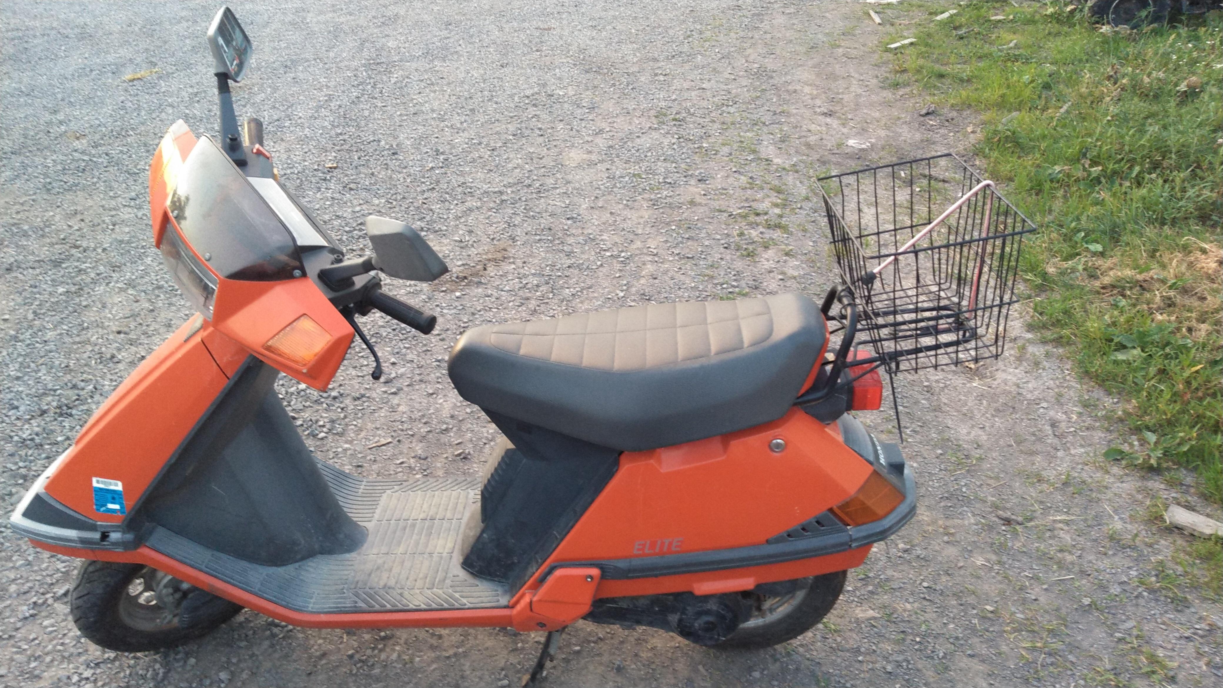 Photo Used 1992 Honda Moped Motorcycle  $1000