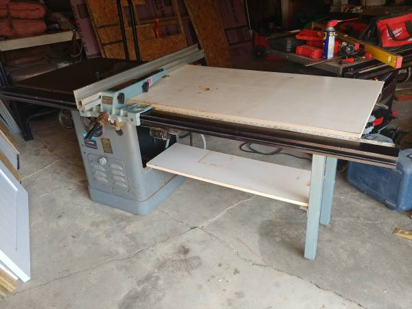 Photo 10quot Rockwell Unisaw 52quot Delta Unifence xtras - $750 (Genesee County)