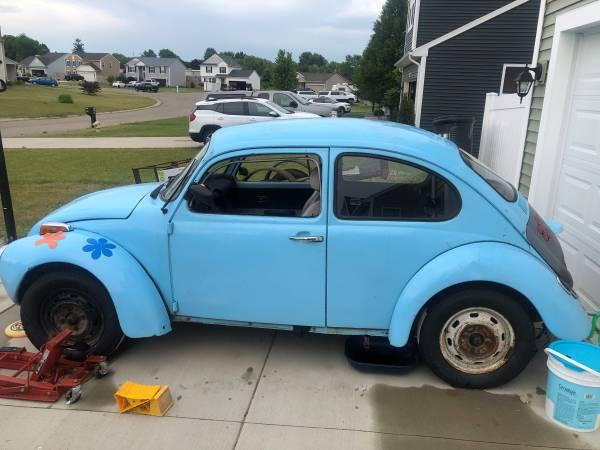 Photo 1973 Super Beetle Project Car - $1,600 (DAVISON)