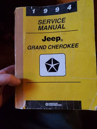 Photo 1994 Jeep Grand Cherokee Service Manual - $20 (Lapeer)