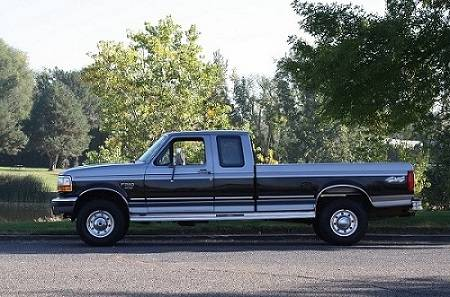 Photo 1996 FORD F-250 with 58,454 MILES - $1,800 (DAVISON)