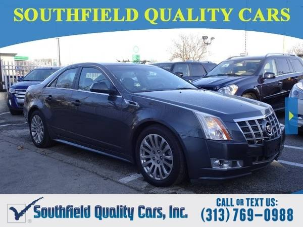 Photo 2012 Cadillac CTS PREMIUM AWD Sedan CTS Cadillac (Cadillac CTS Sedan)