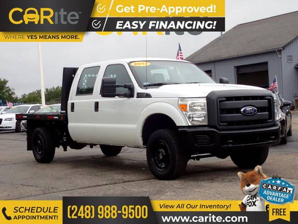 Photo 2013 Ford F250 F 250 F-250 4WD 4 WD 4-WD FOR ONLY $310mo - $22,900 (CARite)