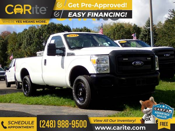 Photo 2013 Ford F250 F 250 F-250 4WD 4 WD 4-WD FOR ONLY $337mo - $24,900 (CARite)