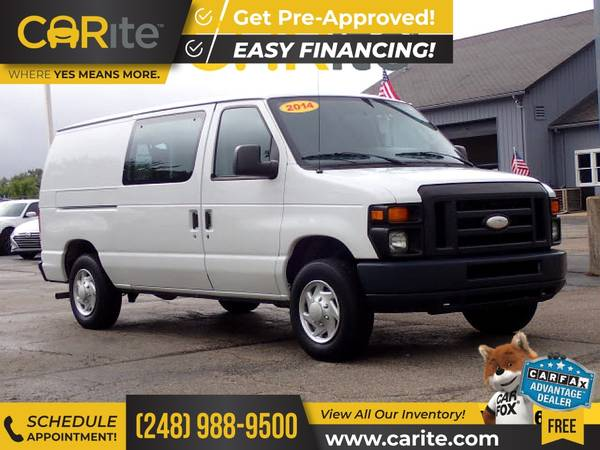 Photo 2014 Ford Econoline Cargo Van FOR ONLY $202mo - $14,900 (CARite)