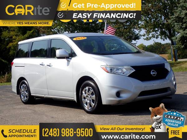 Photo 2014 Nissan Quest FOR ONLY $147mo - $10,995 (CARite)