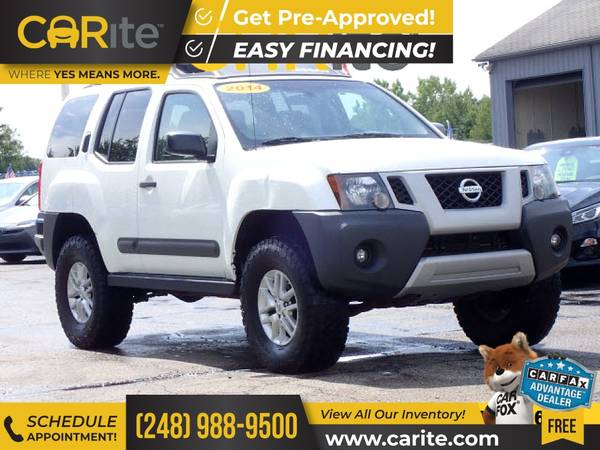 Photo 2014 Nissan Xterra FOR ONLY $221mo - $16,500 (CARite)