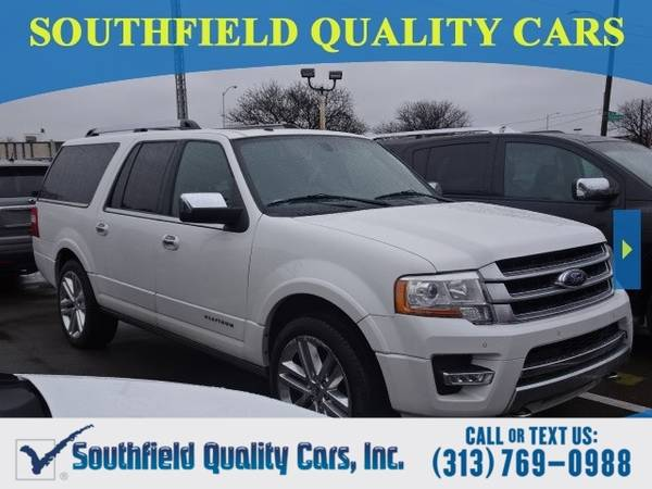 Photo 2015 Ford Expedition EL PLATINUM SUV Expedition EL Ford (Ford Expedition EL SUV)