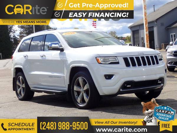 Photo 2016 Jeep Grand Cherokee FOR ONLY $369mo - $27,500 (CARite)