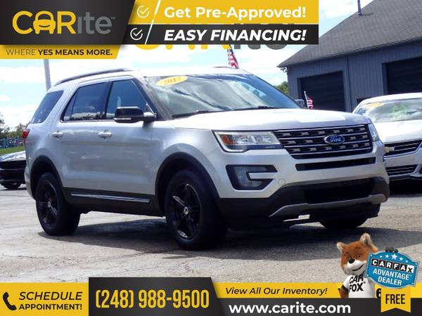 Photo 2017 Ford Explorer FOR ONLY $307mo - $22,900 (CARite)