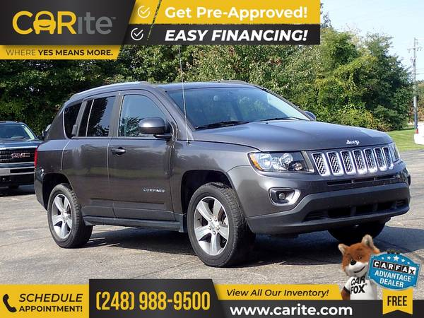 Photo 2017 Jeep Compass FOR ONLY $240mo - $17,900 (CARite)