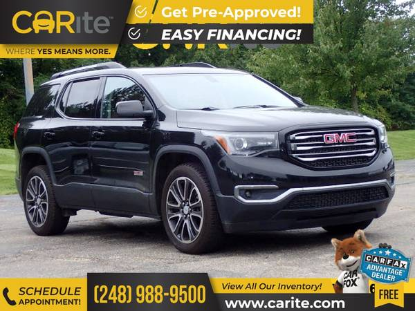 Photo 2018 GMC Acadia FOR ONLY $405mo - $29,900 (CARite)