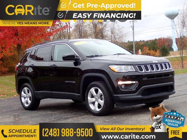 Photo 2018 Jeep Compass FOR ONLY $268mo - $19,995 (CARite)