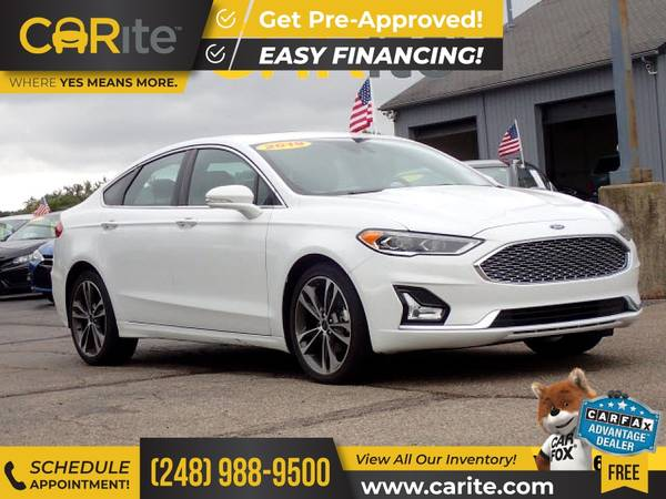 Photo 2019 Ford Fusion FOR ONLY $268mo - $19,800 (CARite)