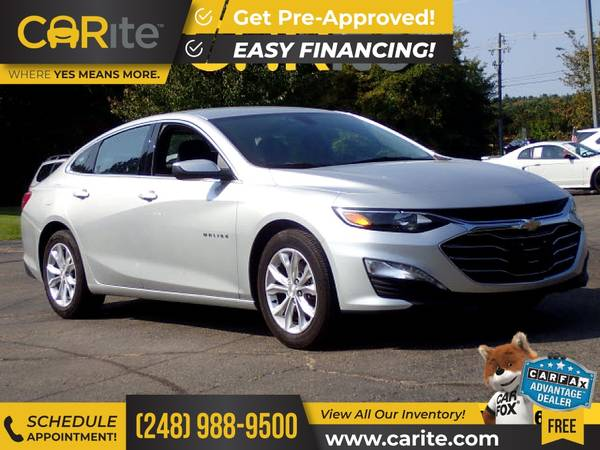 Photo 2020 Chevrolet Malibu FOR ONLY $252mo - $18,800 (CARite)
