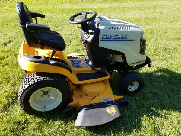 Photo 54 Inch Cub Cadet Super LT1554 Riding Lawn Mower - $1,250 (Lake Orion)