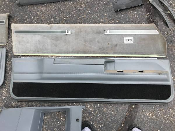 Photo 84-87 Buick Grand National  Regal trim panels and pull straps - $200 (Fenton)
