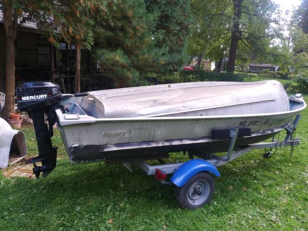 Photo Aluminum boats, motors, and trailers starting at - $300 (Auburn Hills)