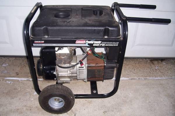 Photo Coleman powermate Generator - $350 (Lake Orion)