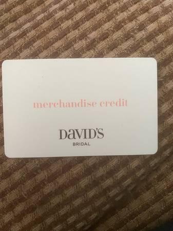 Photo David39s Bridal Gift Card - $120 (Flint Twp)
