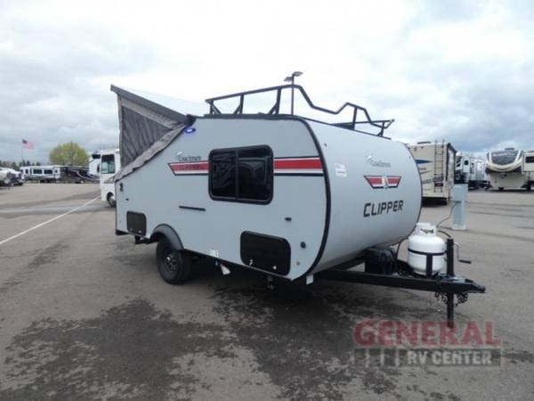 Photo Folding Pop-Up Cer 2021 Coachmen RV Clipper Cing Trailers 12.0TD - $16,999