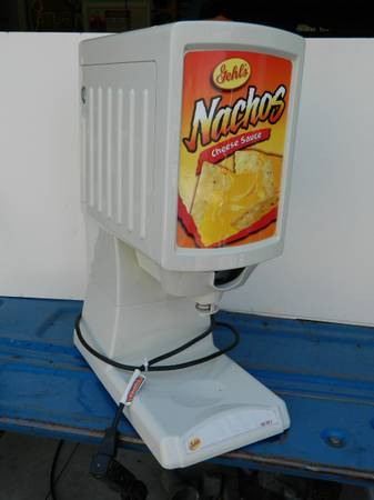 Photo Gehl39s Hot Top 2 Commercial Nacho Cheese Warmer  Dispenser - $175 (Byron - Argentine)