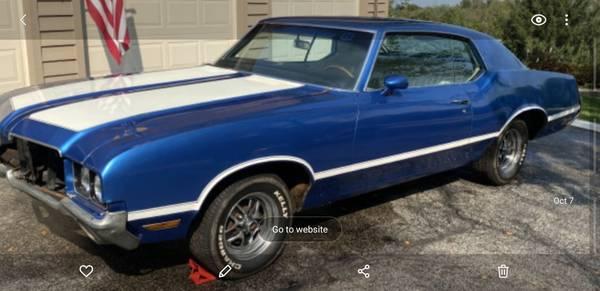 Photo Great project Car 71 cutlass - $8,000 (Flint)
