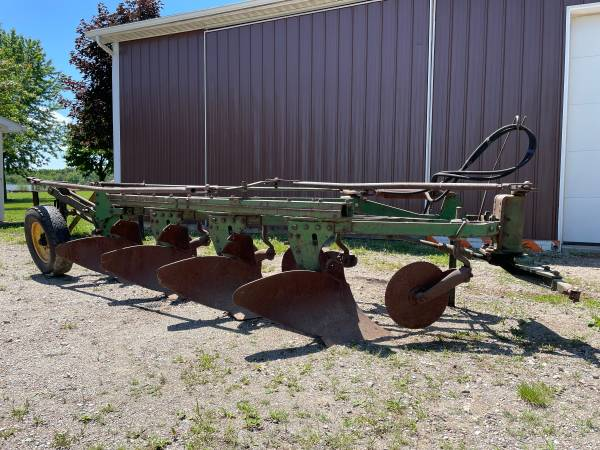 Photo John Deere Model F145H Plow - $1,200 (Lapeer MI)