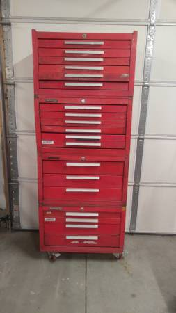 Photo Kennedy tool box  tool boxes - $175 (Linden)