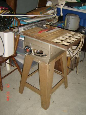 Photo Montgomery Wards Table Saw - $110 (Rochester)