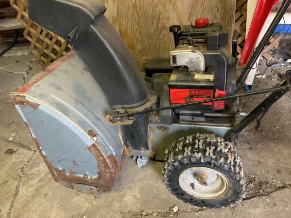 Photo Reduced MTD Yard Machines Snowblower - $150 (Grand Blanc)