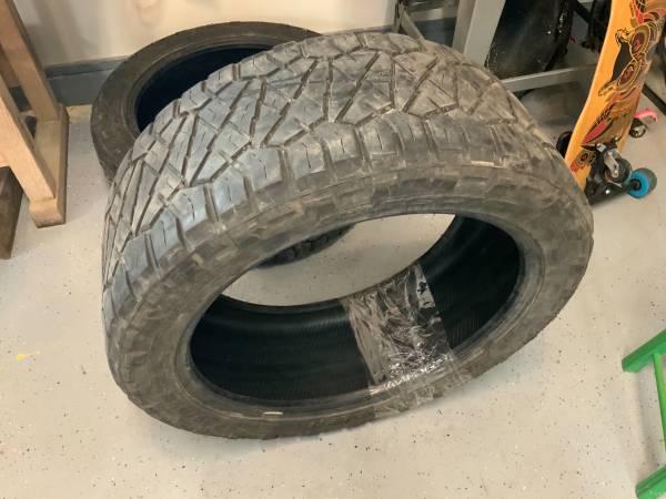 Photo Ridge grappler tires 22 in - $150 (Flushing)