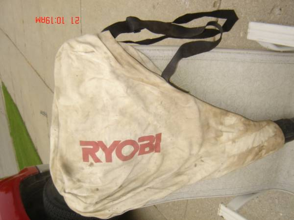 Photo Ryobi Dust Bag - $20 (Rochester)