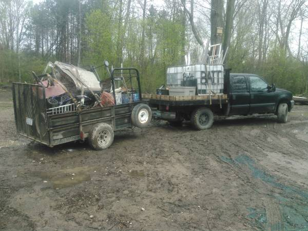 Photo Scrap metal pick up - $10 (Genesee county and surrounding)