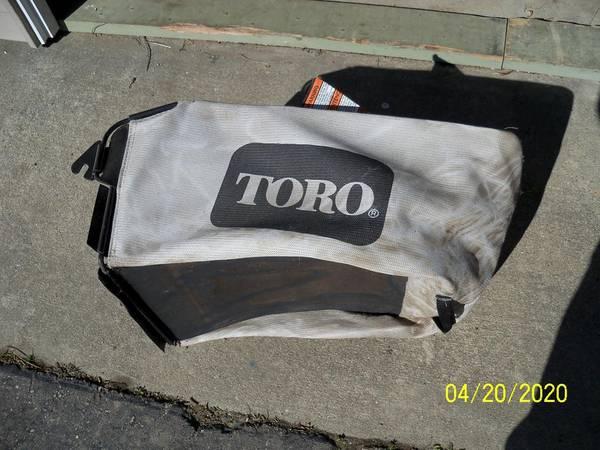 Photo TORO Mower grass bag - $25 (Durand)