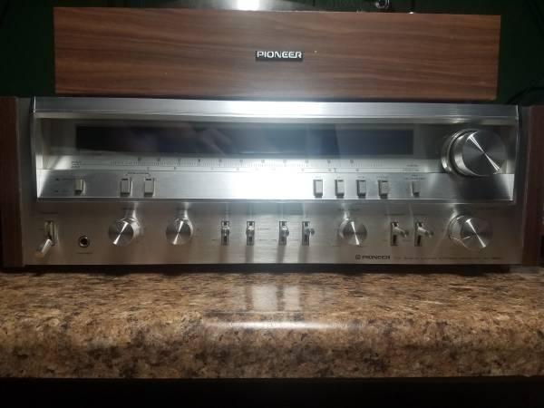 Photo Vintage pioneer sx3800 stereo reciever - $300 (MOUNT MORRIS)