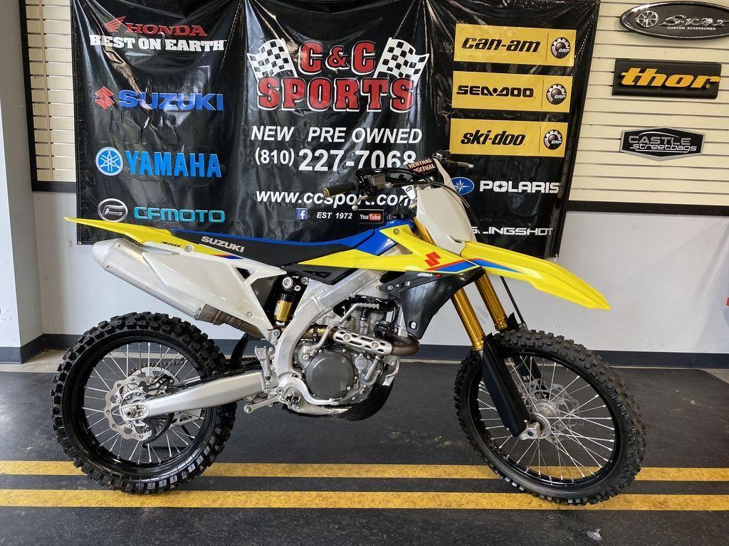 Photo Used 2019 Suzuki Dirt Bike Motorcycle  $7999