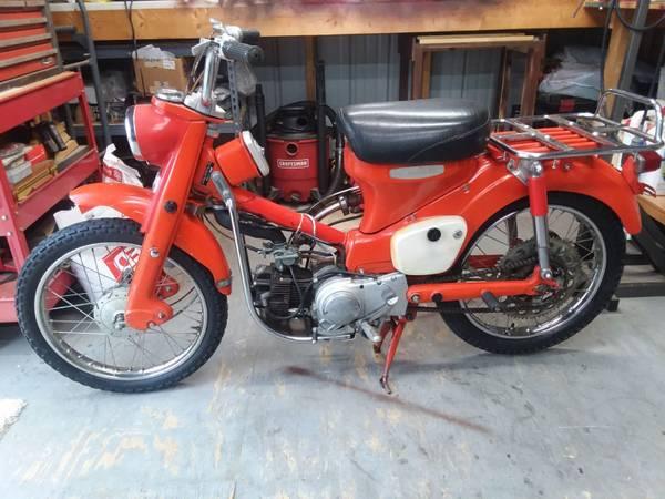 Photo 1965 Honda 90 Trailbike - $2,000 (Concord)
