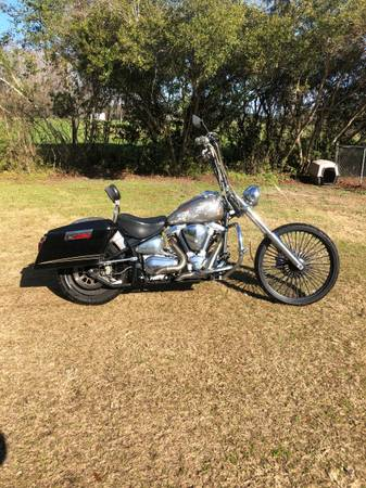 Photo 2001 YAMAHA ROAD STAR 1600cc - $2,800 (turbeville)