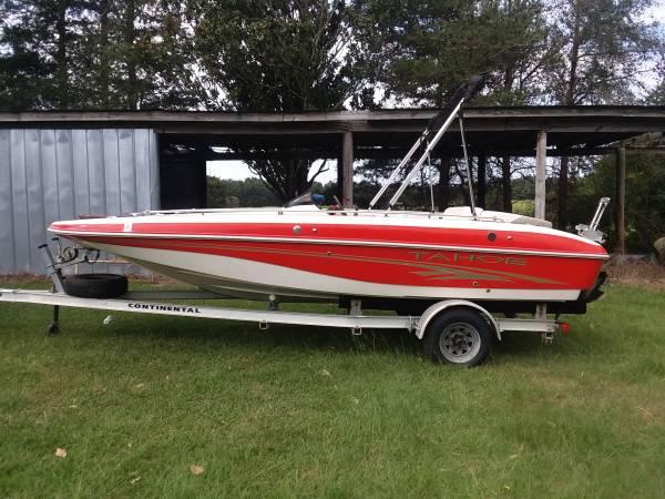 Photo 2005 Tahoe Deck Boat model 202 io - $9,850 (Florence SC)