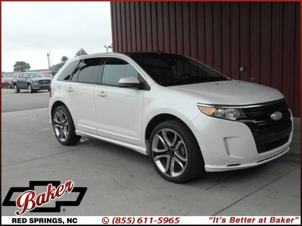 Photo 2014 Ford Edge - $0 DOWN PAYMENTS AVAIL - $13,999 (2014 Ford Edge Baker Chevrolet)