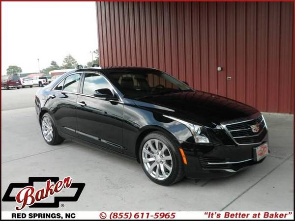 Photo 2018 Cadillac ATS Sedan - GUARANTEED CREDIT APPROVAL - $26,999 (2018 Cadillac ATS Sedan Baker Chevrolet)