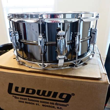 Photo Brand New Ludwig quotBlack Beautyquot Snare Drum - 14 x 6  quot - $650 (Carolina Forest)