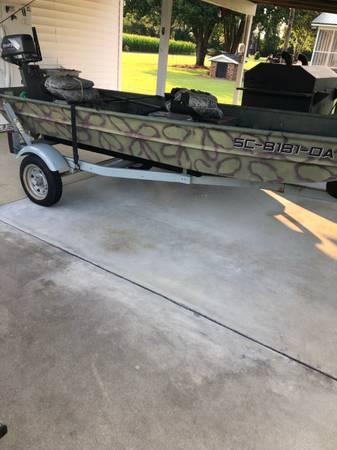Photo Jon Boat For Sale - $2,500 (Johnsonville)