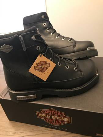Photo Mens Harley Davidson Boots Sz. 12 - $100 (Florence)