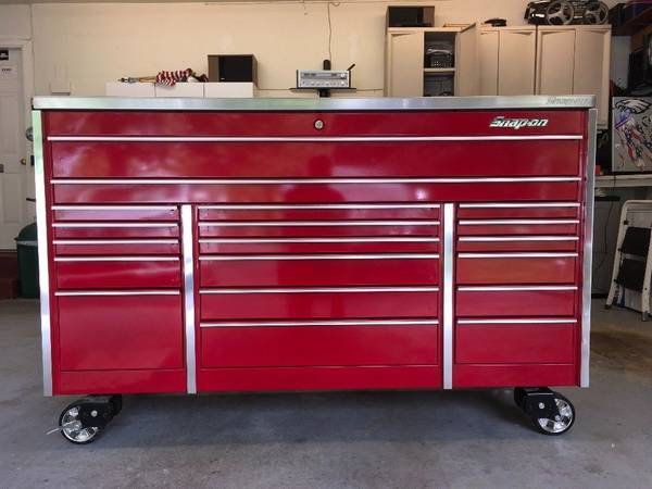 Photo Nice Snap-on tool box with tools - $900