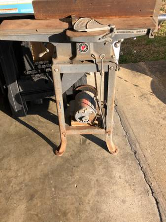 Photo Rockwell Delta 4quot Jointer - $200 (Florence)