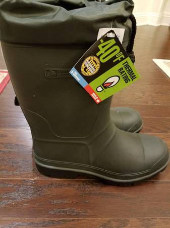 Photo Shoes Mens Work Boots Rubber Insulated NEW - $35 (South Charlotte)