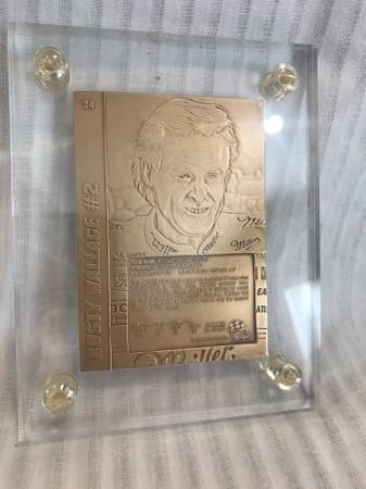 Photo The Highland Mint Mint-Card Sports Collection NASCAR Bronze 2 Rusty W - $1 (Sumter)